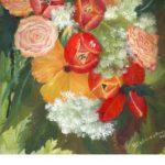 Lebendiges Blühen