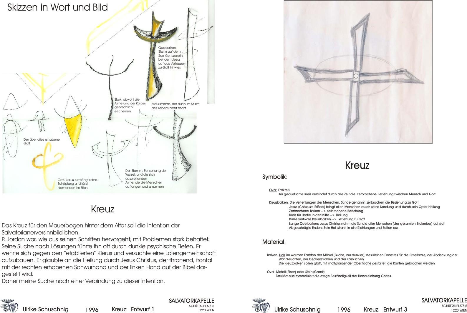 Kapelle - Entw Kreuz1 u 3