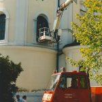 Verdunklung der Basilikafenster