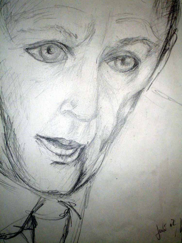 Porträt_2002_Grafitstift