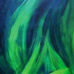 Abstrakt Blau_Acryl_70x50_2004