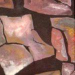 Wüste_2 Zerrissene Erde Bild_2004_Acryl_20x60